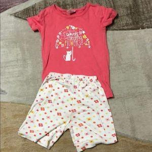 Gymboree Girl Pajamas.